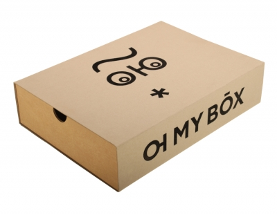 Shipping box for e-shop OH MY BOX