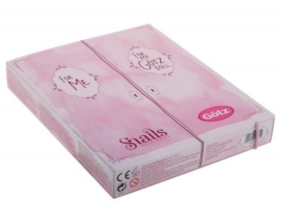 Gift box for children's cosmetics SNAILS