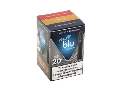 Packaging for electronic cigarettes MY BLU